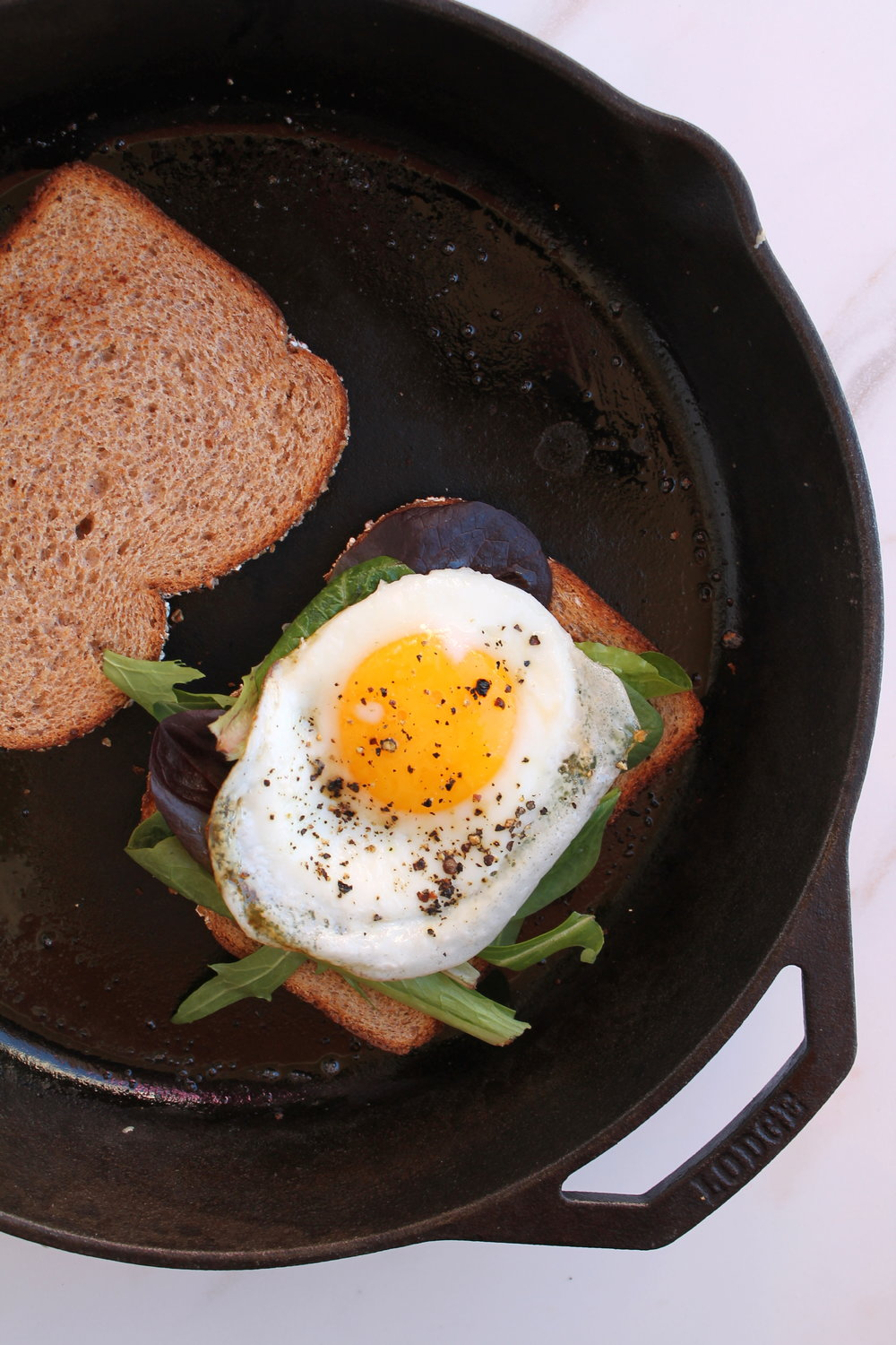 Switch up your breakfast game with fried egg & avocado sandwich. It's Simple, hearty, and great for a lazy morning.