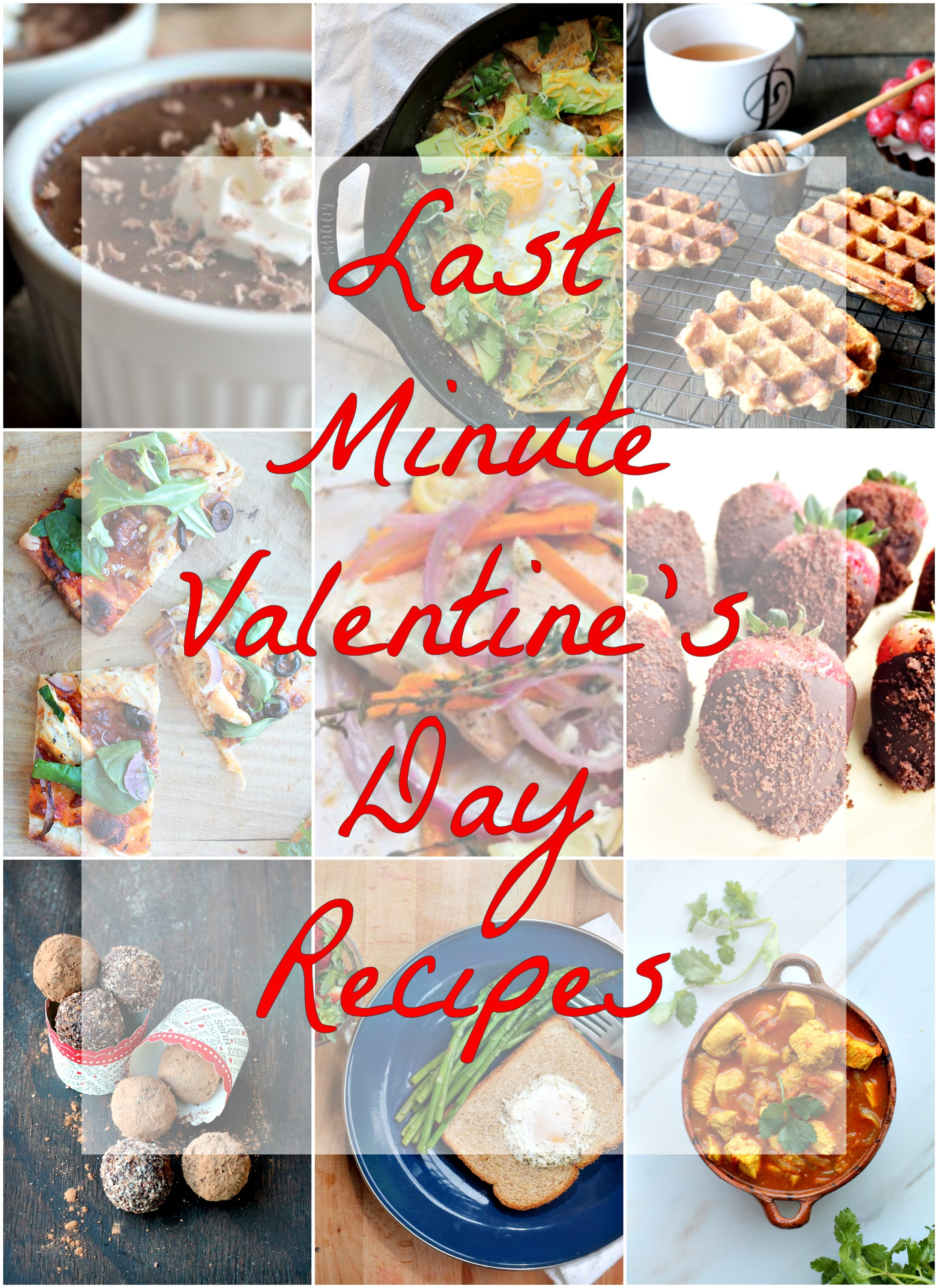 I hope you will find inspiration from Last Minute Valentine's Day Recipes as I have covered everything from your brunching needs to recipes that will satisfy your sweet tooth.