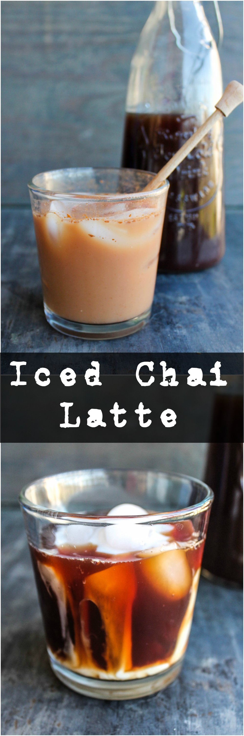 Enjoy Iced Chai Latte at the convenience of your own home. Feel free to customize it with the milk and sweetener of your choice!