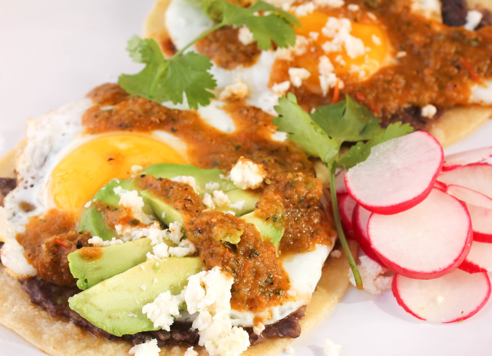Entertain your guests with Huevos Rancheros, a popular Mexican breakfast from the comfort of your own kitchen! It's easy, wholesome, delicious, and naturally gluten-free.