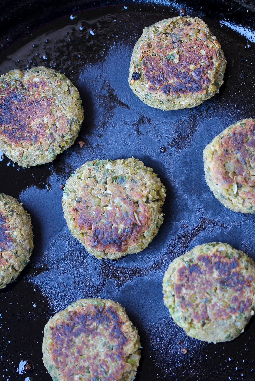 Split Green Peas Falafel are weeknight friendly, make-ahead, and healthier take on traditional falafel. These are gluten-free, vegan friendly as well!