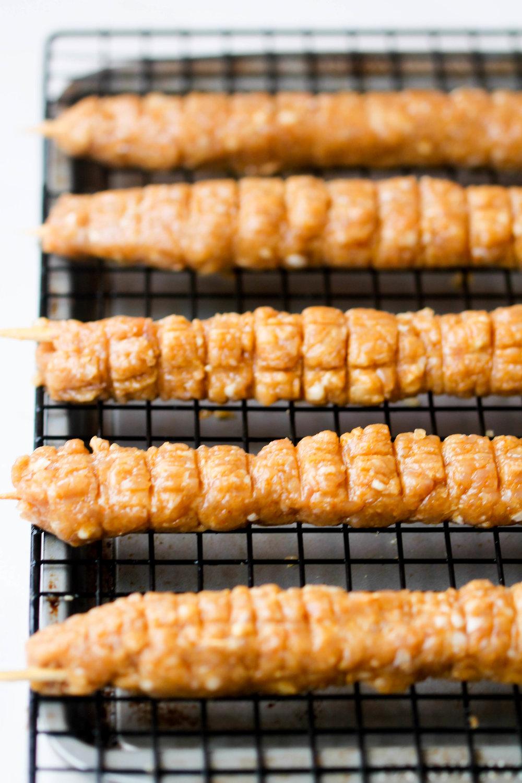 Easy Chicken Seekh Kebab