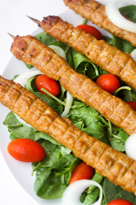 Chicken Seekh Kebab Easy