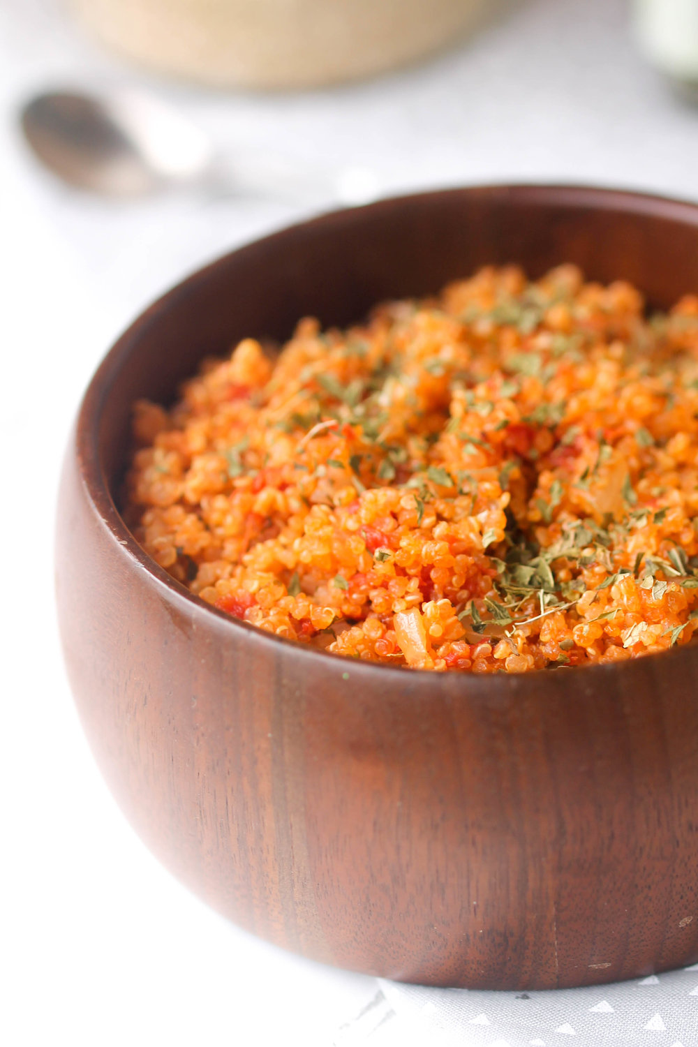 Easy, Healthy Tomato Mint Quinoa