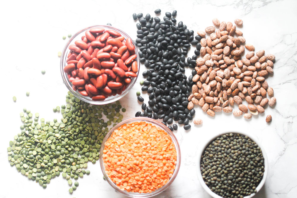 Legumes 101 - basics of legumes, lentils, and beans