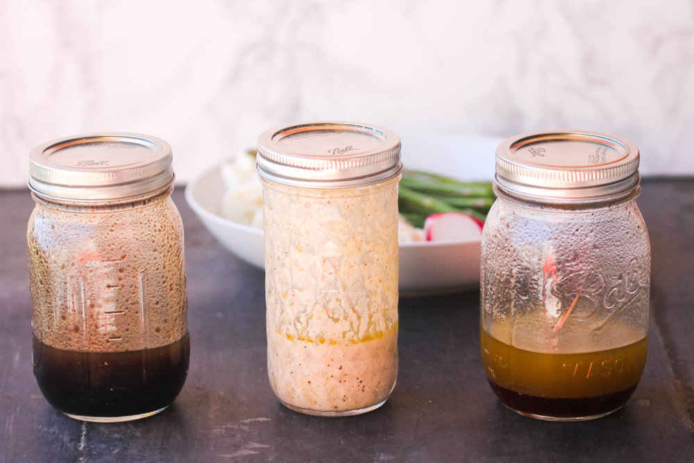 Make your own Basic Vinaigrette with 3 Variations utilizing basic pantry ingredients and a jar. It's easy, inexpensive, and flexible for all your salad and marinade needs.