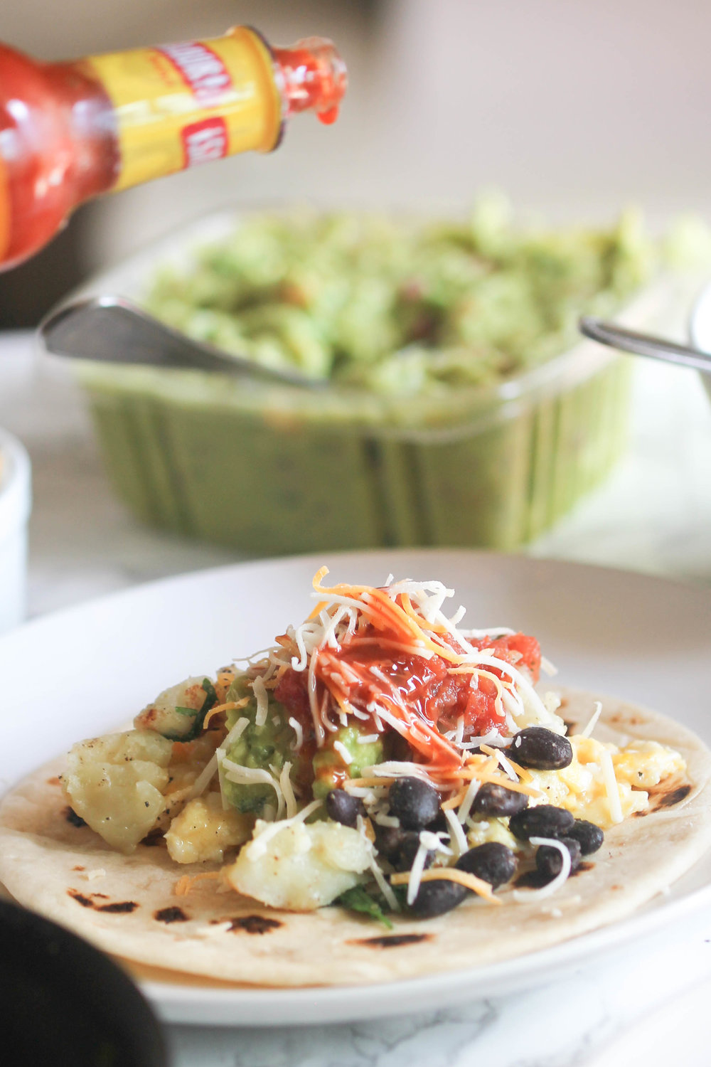 Super Easy Breakfast Taco