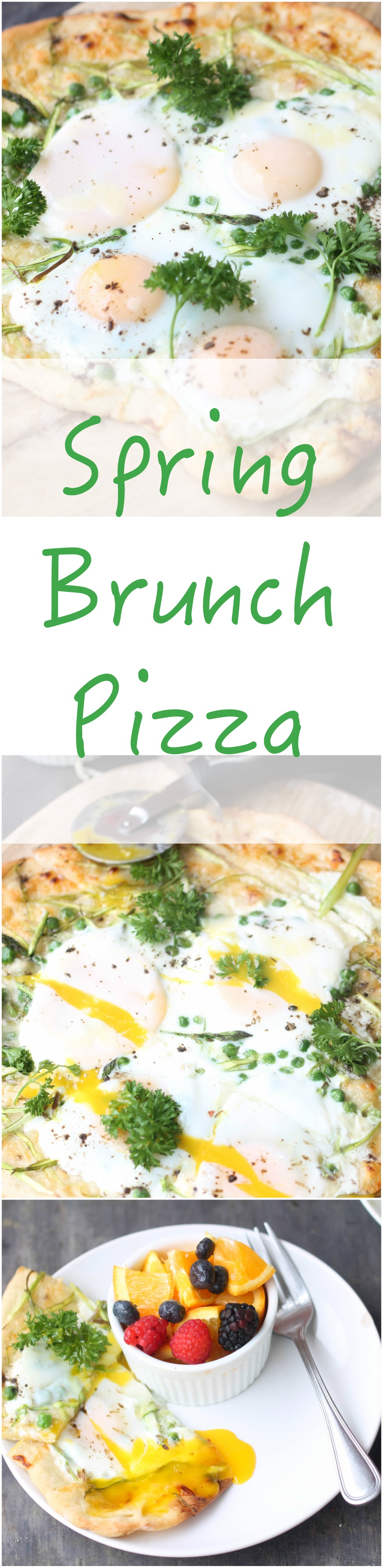 Switch up your brunch game with Spring Brunch Pizza! Simple ingredients, flexible, and enjoyed by everyone.