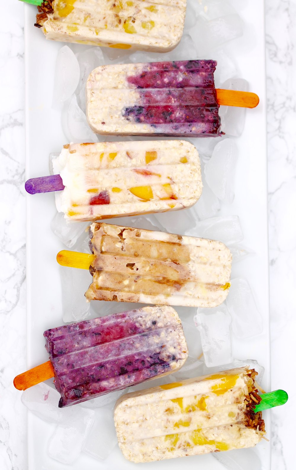 Breakfast Popsicle Oats