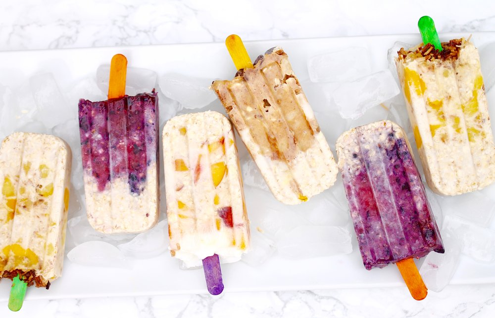 Overnight Oats Popsicle, Healthy