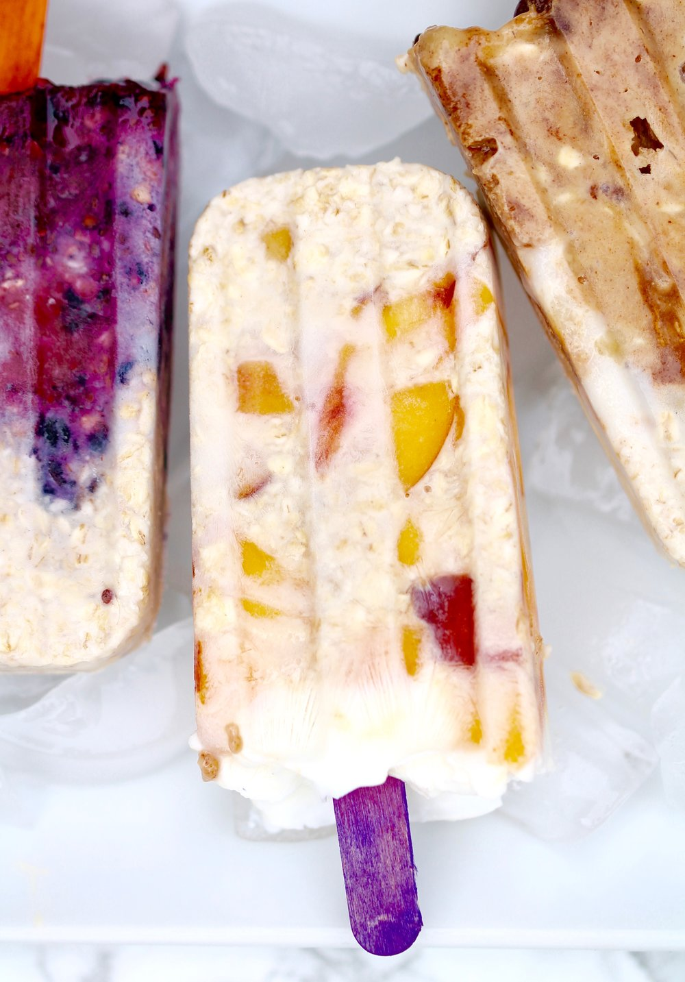 OVernight Oats Breakfast Pops