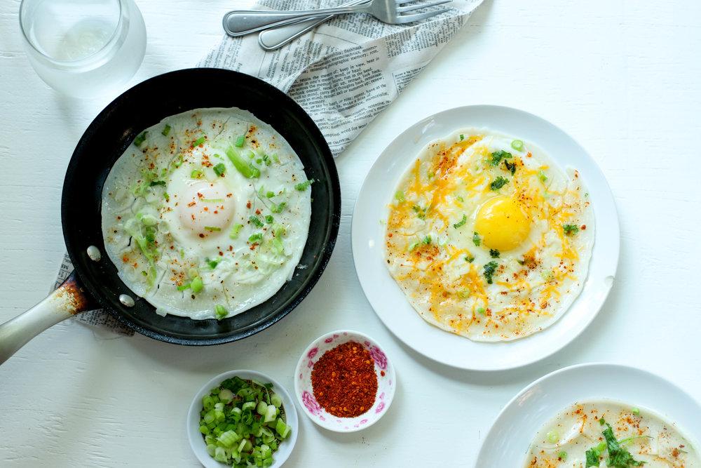 Nepali Egg Chatamari