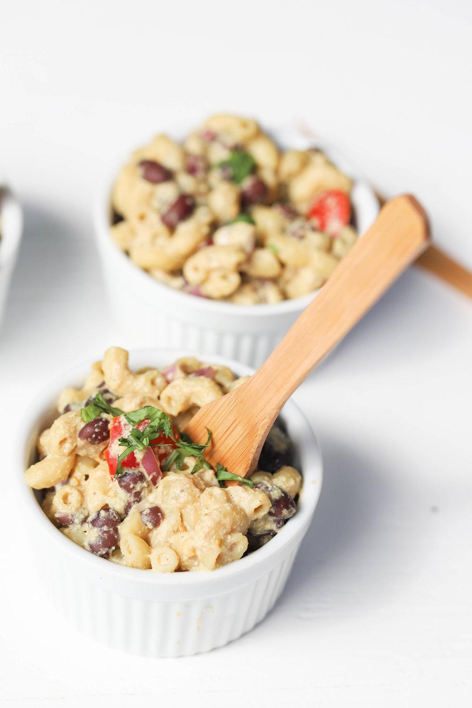 Vegan Queso Pasta Cups