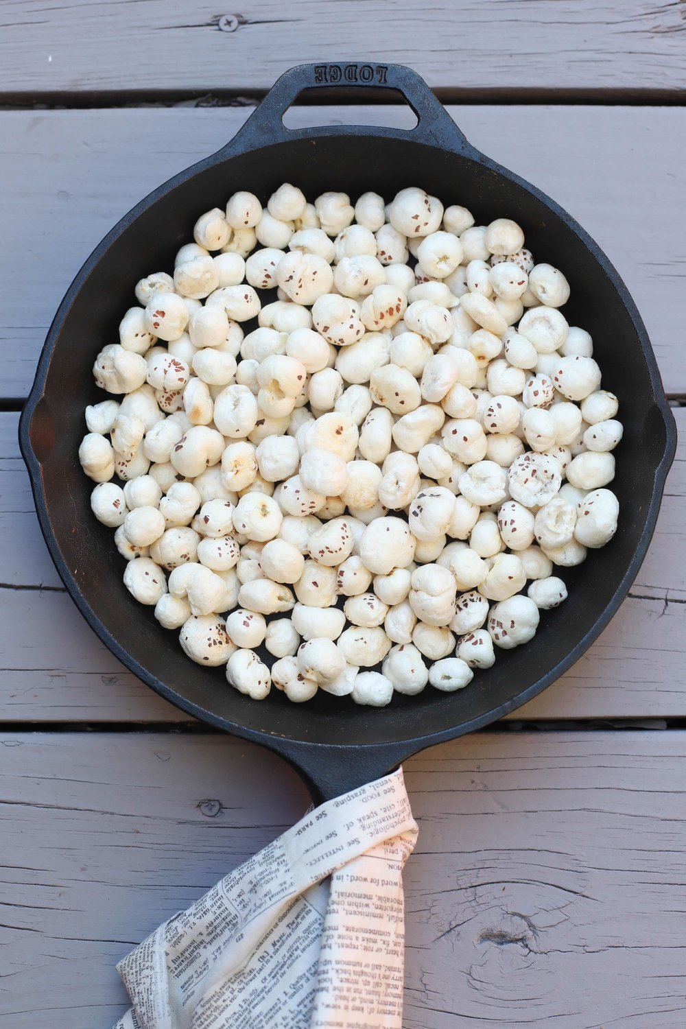 Roasted Makhana Lotus Seeds Foxnuts Food Pleasure Health