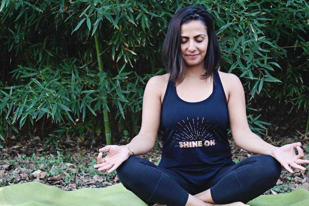 yoga studio at home