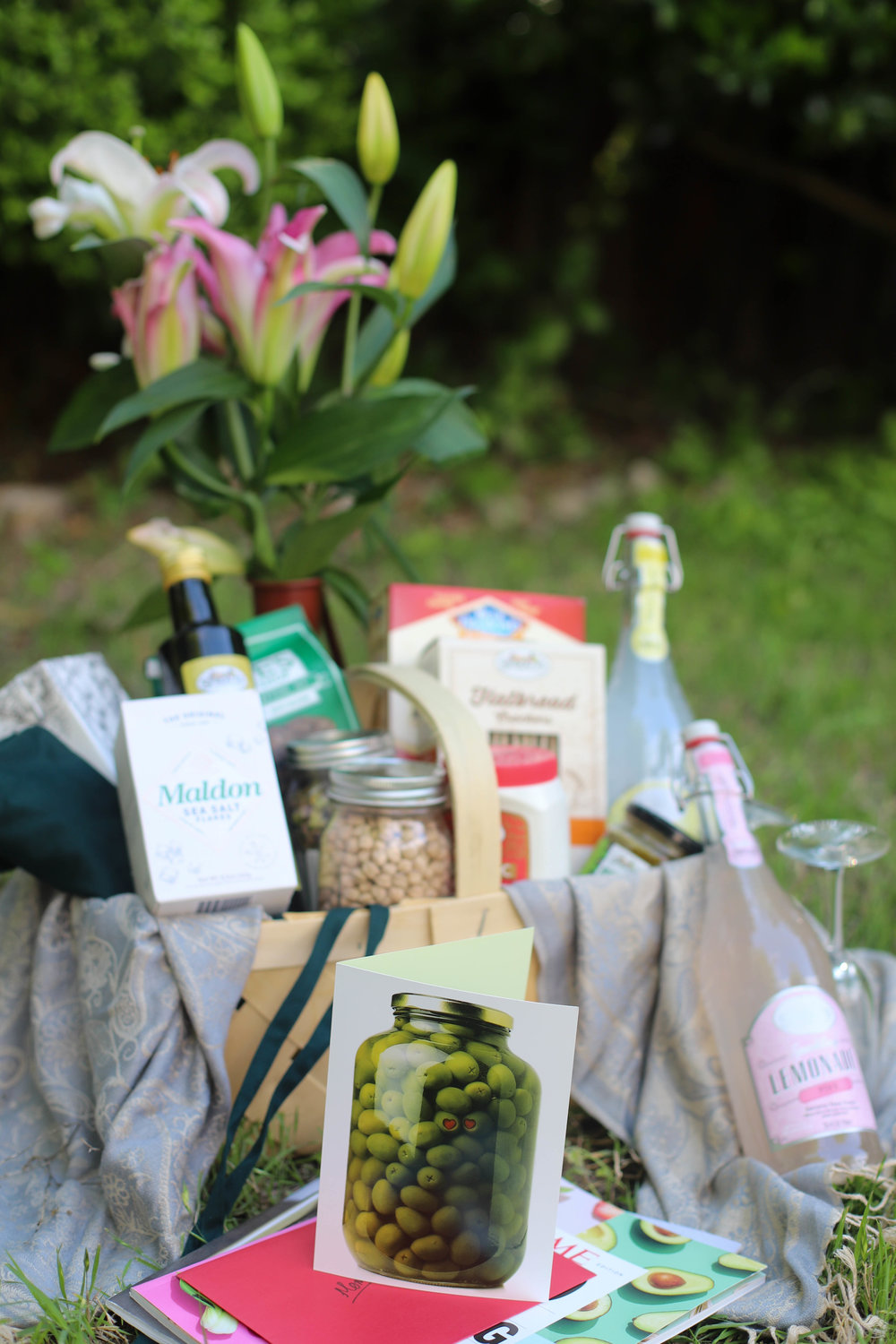 Mothers day gift basket for first time chef food pleasure health mothers day gift basket negle Gallery