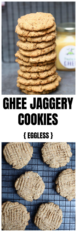 Ghee Jaggery Cookies