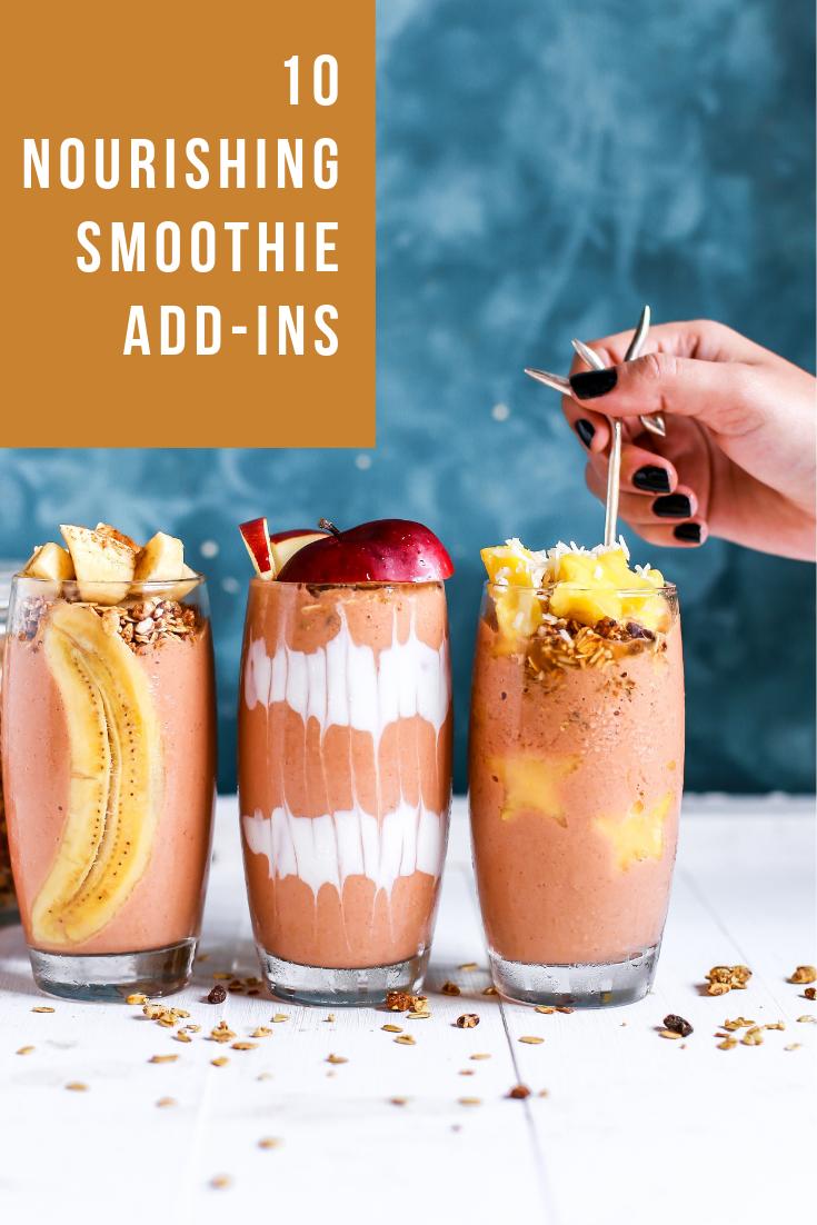 Nourishing Smoothie Add-Ins