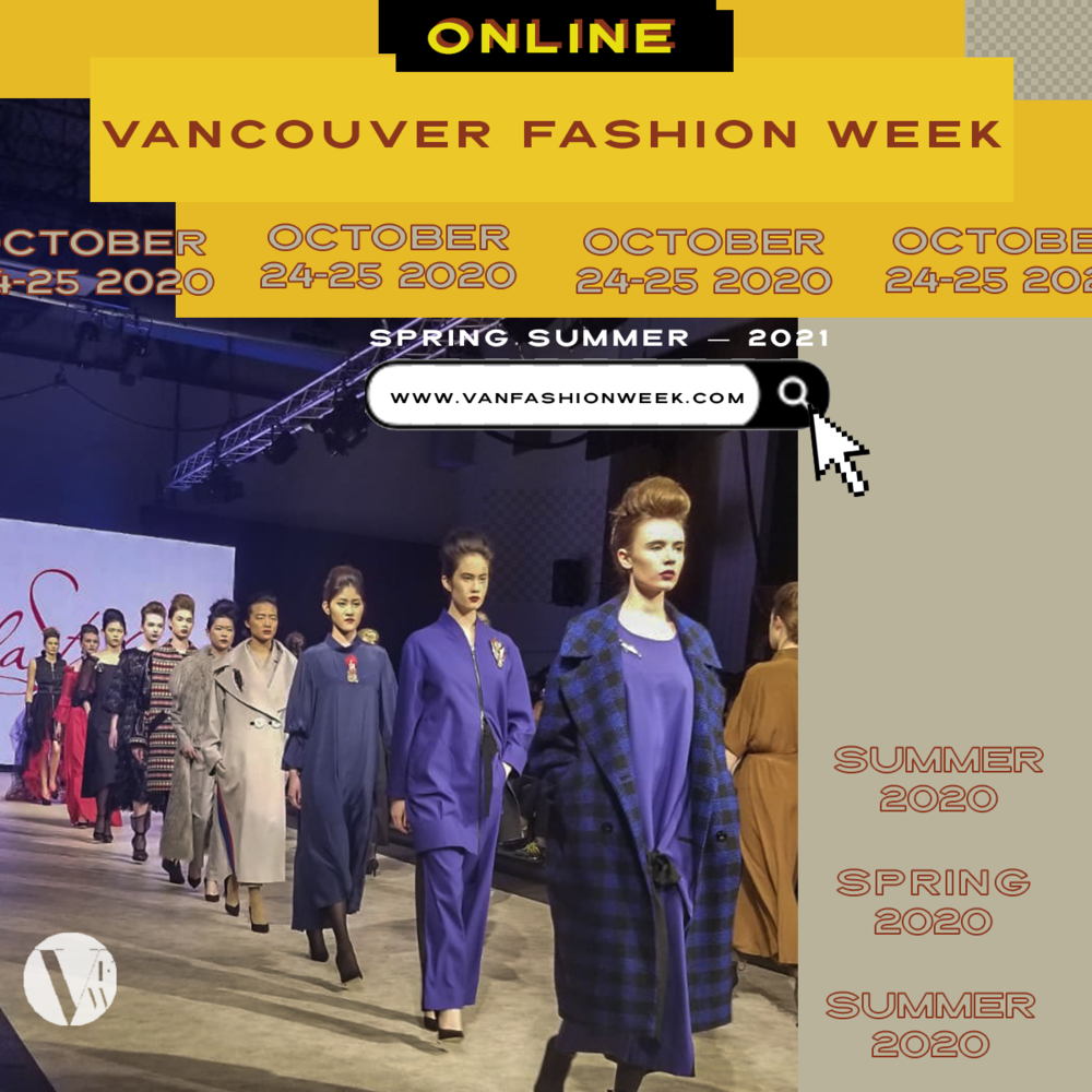 Vancouver Fashion Week goes Online for SS21