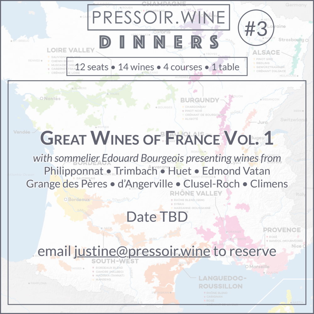 Pressoir Wine Dinner #3 Great Wines of France.png