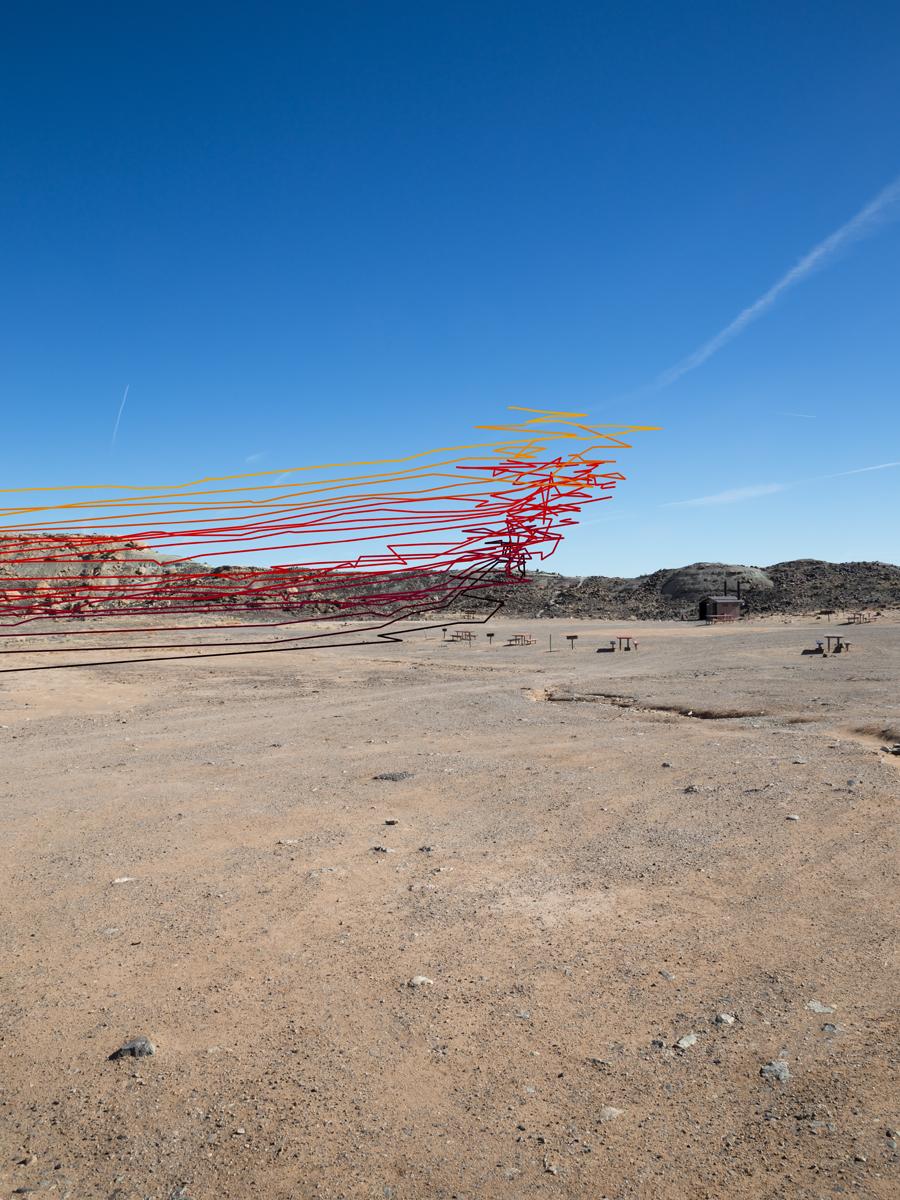 Four Corners National Monument (.37 Miles East of Monument), Teec Nos Pos, Arizona: 1868