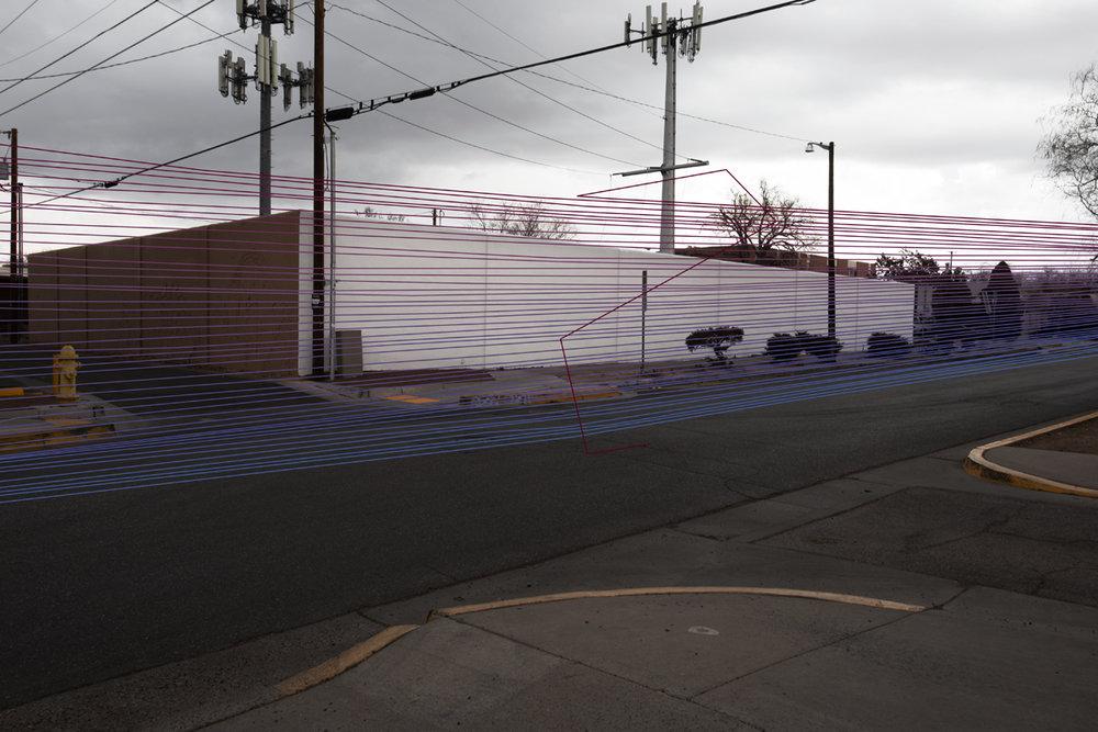 Accident Location, Albuquerque, New Mexico: 1.15. 2018