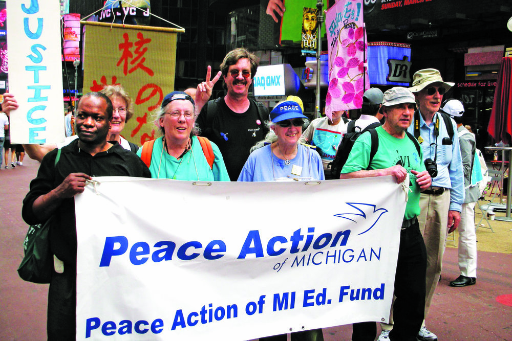 Join Peace Action of Michigan Today!