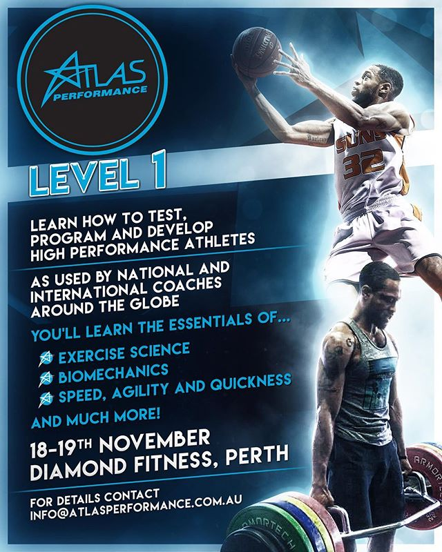 Time to level up the new breed of strength and conditioning coach. Join us at @diamondfitnesstraining in Perth for our last Level 1 for the year. DM for more details. #coachknows