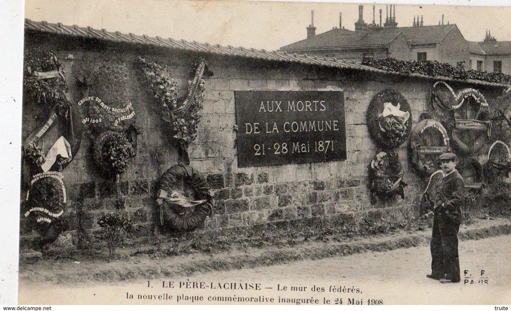 Visit Pere Lachaise Vidi guides commune