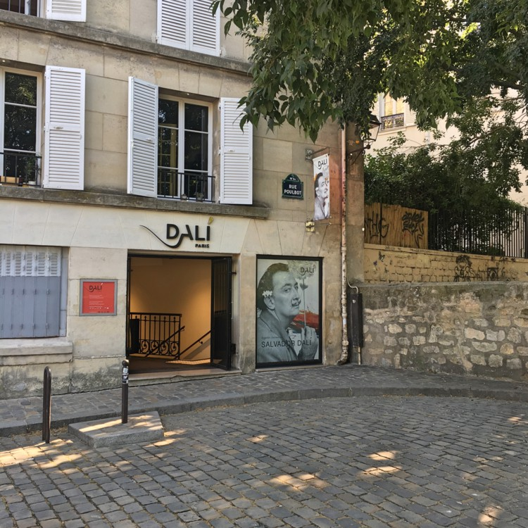 Things to do in montmartre Vidi Guides Dali
