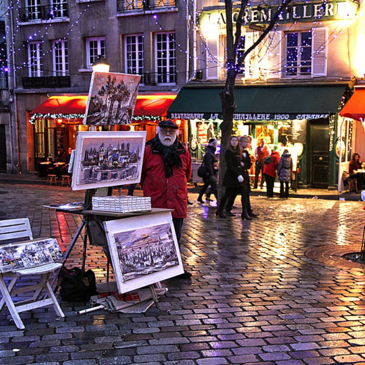 Things to do in montmartre Vidi Guides place tertre