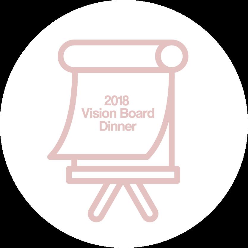 1.4.2018 | 2018 Vision Board Dinner