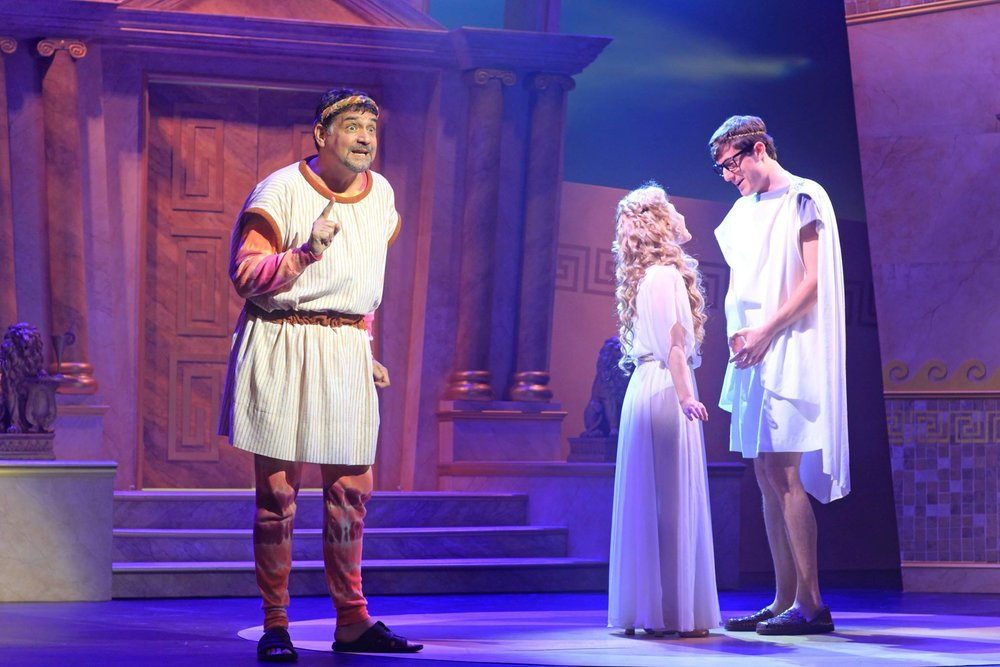 A Funny Thing Happened On The Way To The Forum - October 2014 at The Flat Rock Playhousephoto by Scott Treadway