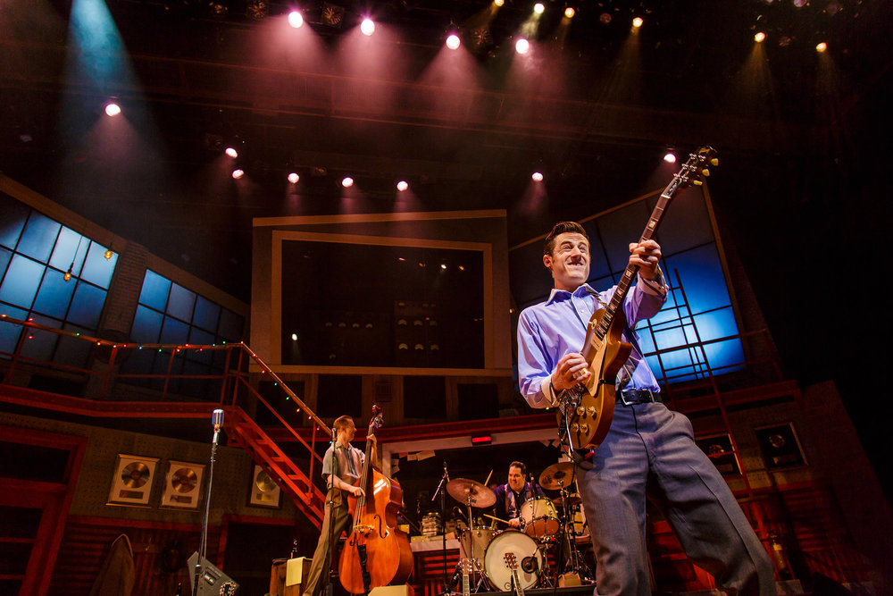 Million Dollar Quartet - Sam played Carl Perkins in the Geva Theatre Center production directed by Hunter FosterJune 14-July 8photo by Goat Factory Media Entertainment