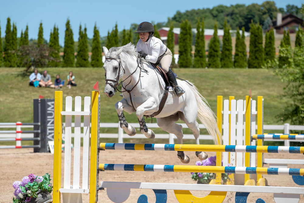 Marisa Malevitis and KT Forest finished third in the $2,500 Adult Amateur Classic!
