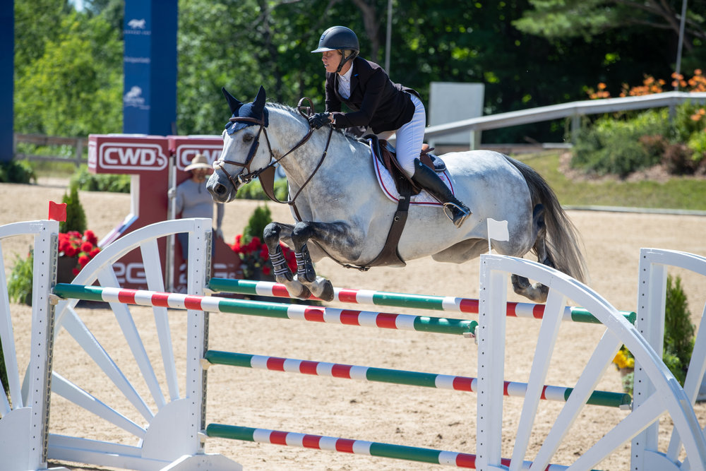 Caitlyn Shiels and Cavalier II put in great rounds with just one unfortunate rail down in the $50,000 Meijer Grand Prix of Michigan.