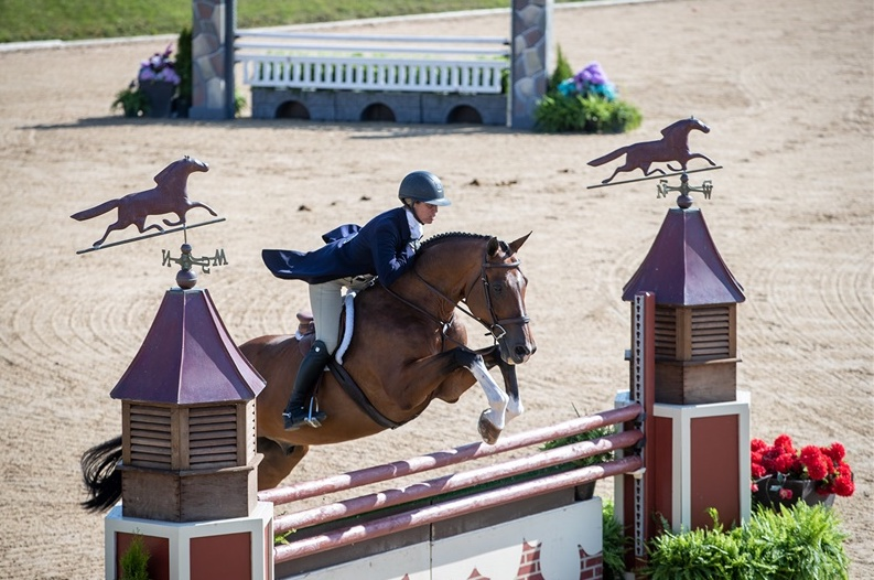Caitlyn Shiels and Michelle Durpetti's Cassius put in two solid rounds to finish 10th in the $25,000 USHJA International Hunter Derby! Next stop Derby Finals!