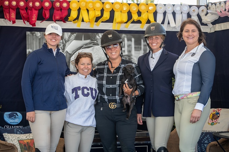 Emily Britton, Marisa Malevitis, Michelle Durpetti, Caitlyn Shiels, and Katie Hawkins by Fine Art Horses_IMG_0766.JPG