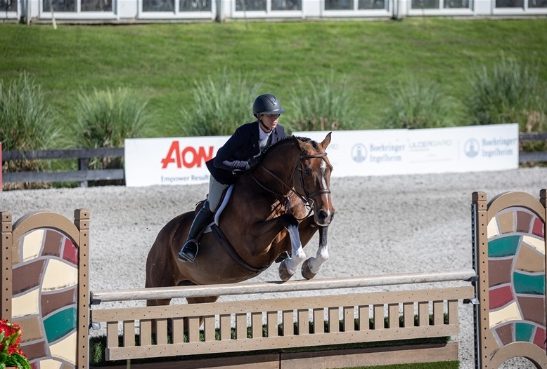 Caitlyn Shiels and Cassius. Photo by  Fine Art Horses