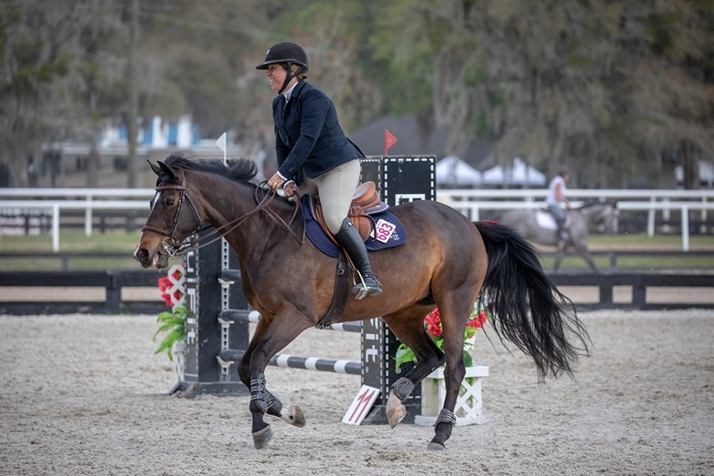 Michelle and Serafina. Photo by  Fine Art Horses