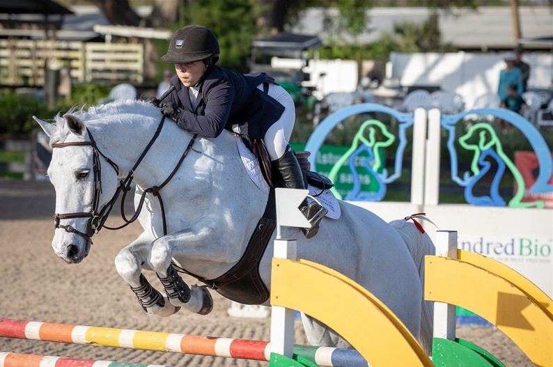 Marisa Malevitis and KT Forest. Photo by  Fine Art Horses