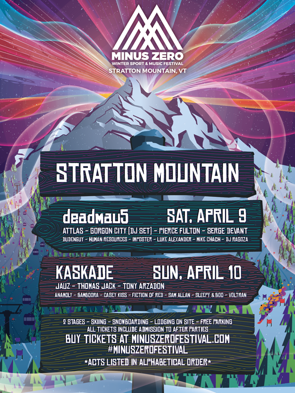 Minus Zero - 2016 - Winter Sports and Music Festival in Upstate Vermont. I produced and directed the look and feel of a majority of the branding & marketing assets for Minus Zero in addition to producing the 'Announcement Video' for their VT festival.Branding | Motion | Digital Marketing