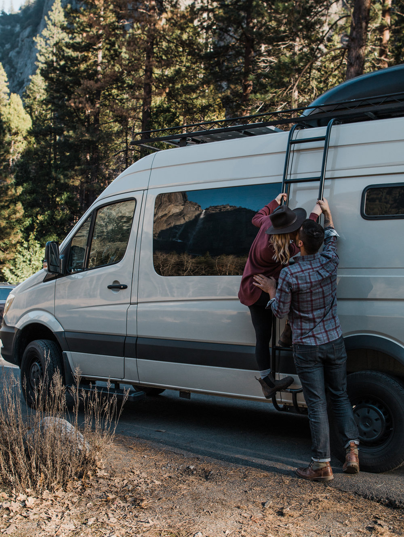 Yosemite Adventure Engagement Session