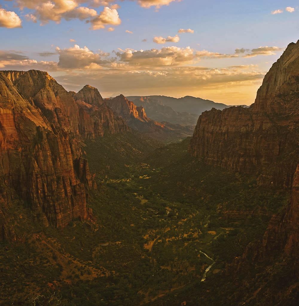 Zion national park adventure elopement