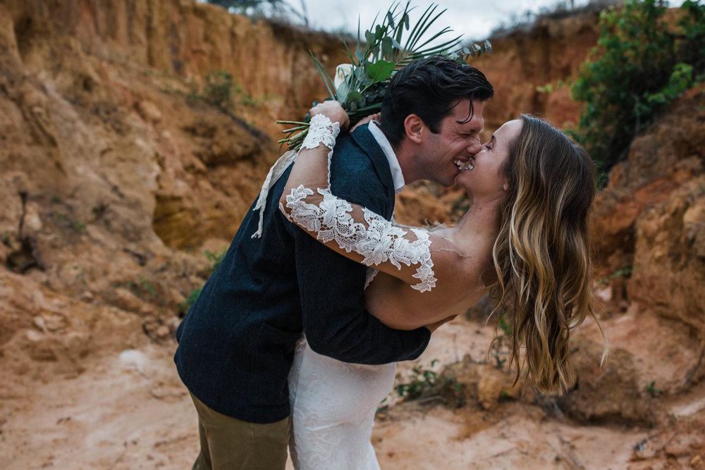 Grand Canyon national park elopement inspired shoot
