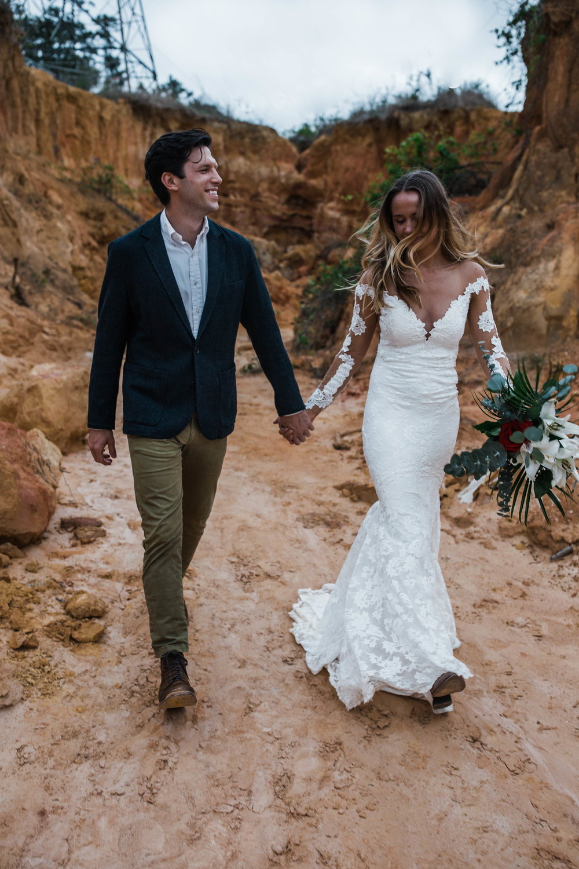 Grand Canyon national park elopement inspried shoot