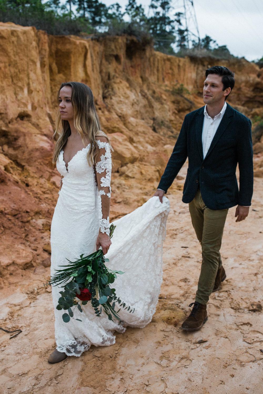 Moab Utah desert elopement inspiration shoot