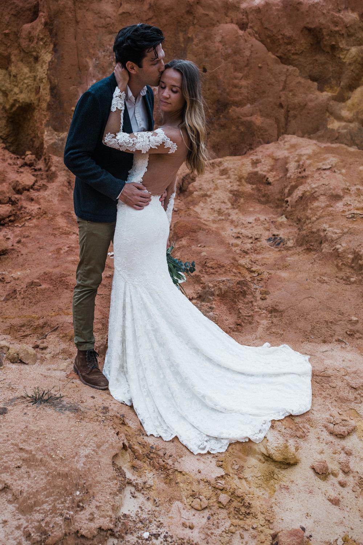 Moab, Utah desert elopement inspriation shoot