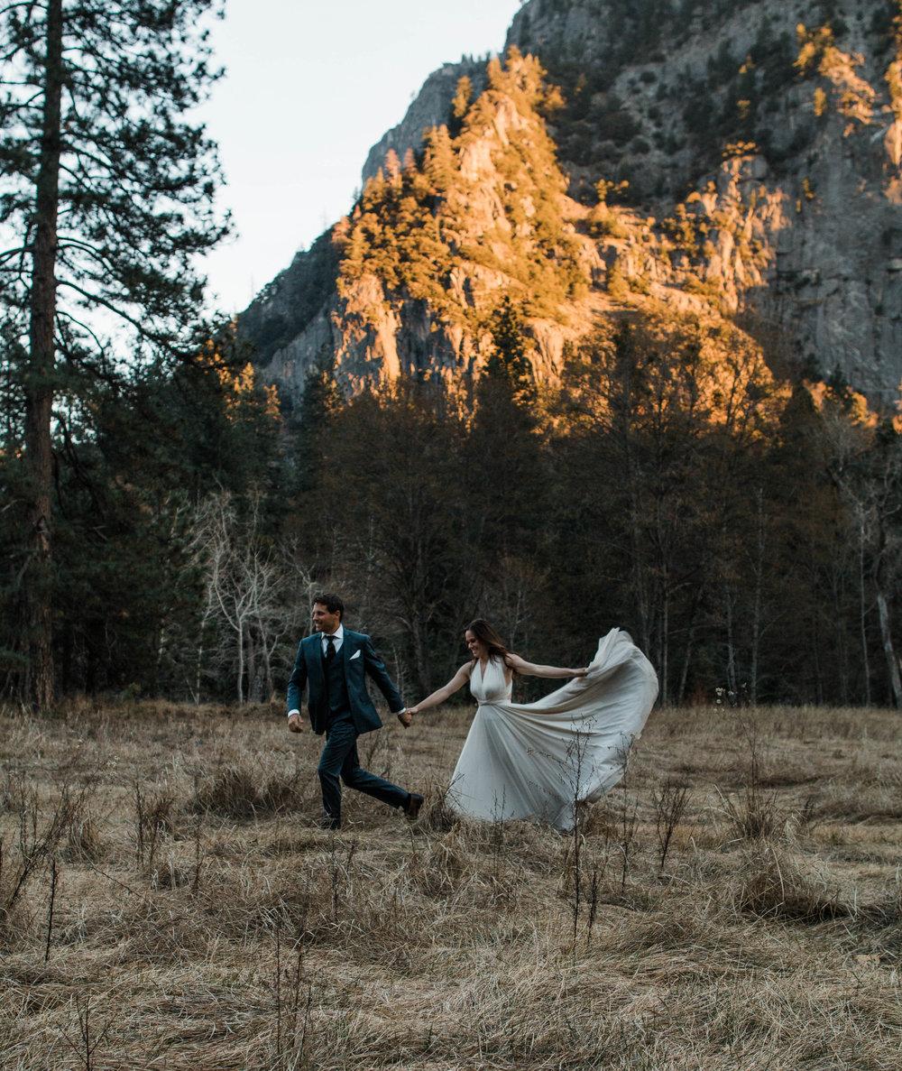 Dreamy Yosemite Adventure Elopement