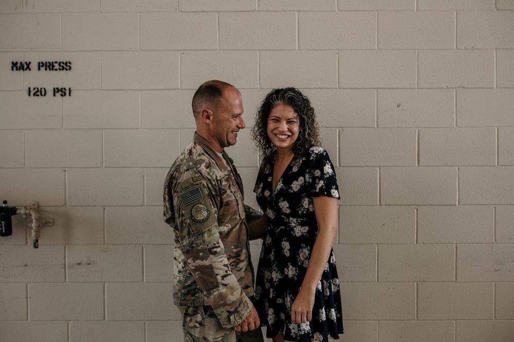 heart felt military homecoming photography